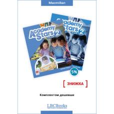 Комплект: Підручник і зошит Academy Stars 2 Pack