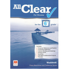 Зошит All Clear for Ukraine 6 Workbook