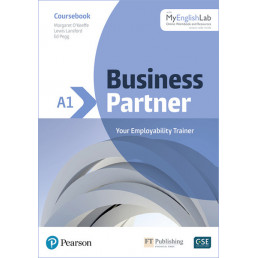 Підручник Business Partner A1 Coursebook with MyEnglishLab