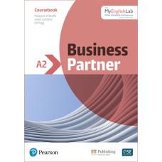 Підручник Business Partner A2 Coursebook with MyEnglishLab
