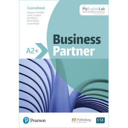 Підручник Business Partner A2+ Coursebook with MyEnglishLab