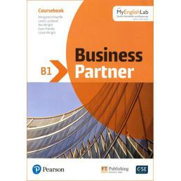 Підручник Business Partner B1 Coursebook with MyEnglishLab