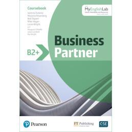 Підручник Business Partner B2+ Coursebook with MyEnglishLab
