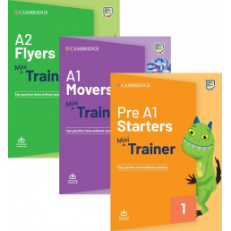 Комплект: Starters, Movers, Flyers Pack