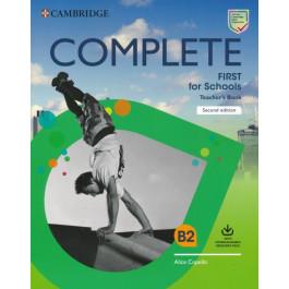 Книга вчителя Complete First for Schools 2nd Edition Teacher's Book