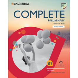 Книга вчителя Complete Preliminary 2nd Edition Teacher's Book
