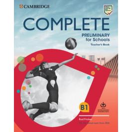 Книга вчителя Complete Preliminary for Schools Teacher's Book