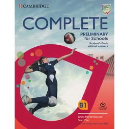 Підручник Complete Preliminary for Schools Student's Book