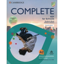 Підручник і зошит Complete Key for Schools 2nd Edition Student's Pack