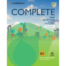 Зошит Complete First for Schools 2nd Edition Workbook