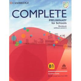Зошит Complete Preliminary for Schools Workbook