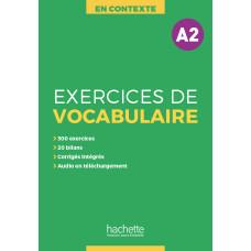 Посібник En Contexte Exercices de vocabulaire A2