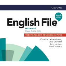 Аудіо диск English File 4th Edition Advanced Class Audio CD