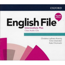Аудіо диск English File 4th Edition Intermediate Plus Class Audio CD