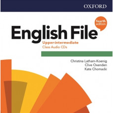 Аудіо диск English File 4th Edition Upper-Intermediate Class Audio CD
