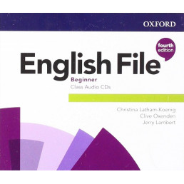 Аудіо диск English File 4th Edition Beginner Class Audio CD