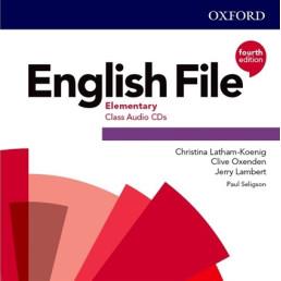 Аудіо диск English File 4th Edition Elementary Class Audio CD