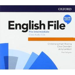 Аудіо диск English File 4th Edition Pre-Intermediate Class Audio CD