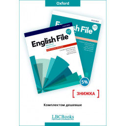 Комплект: Підручник і зошит English File Advanced Pack
