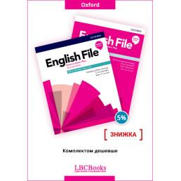 Комплект: Підручник і зошит English File Intermediate Plus Pack