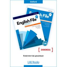 Комплект: Підручник і зошит English File Pre-Intermediate Pack