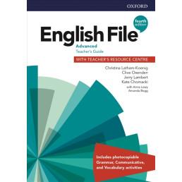 Книга вчителя English File 4th Edition Advanced Teacher's Guide