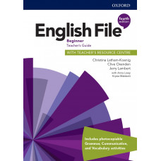 Книга вчителя English File 4th Edition Beginner Teacher's Guide