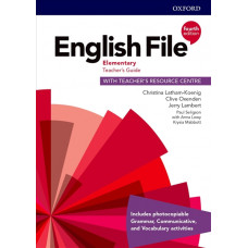 Книга вчителя English File 4th Edition Elementary Teacher's Guide