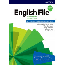 Книга вчителя English File 4th Edition Intermediate Teacher's Guide