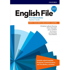 Книга вчителя English File 4th Edition Pre-Intermediate Teacher's Guide
