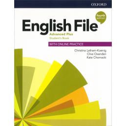 Підручник English File 4th Edition Advanced Plus Student's Book