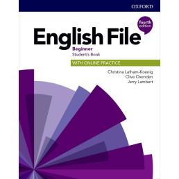 Підручник English File 4th Edition Beginner Student's Book