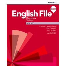 Зошит English File 4th Edition Elementary Workbook with key