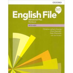 Зошит English File 4th Edition Advanced Plus Workbook with key