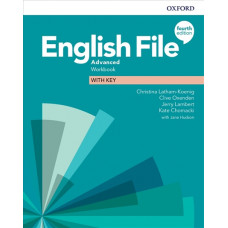 Зошит English File 4th Edition Advanced Workbook with key