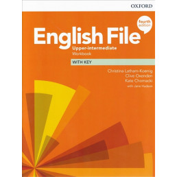 Зошит English File 4th Edition Upper-Intermediate Workbook with key