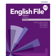 Зошит English File 4th Edition Beginner Workbook with key