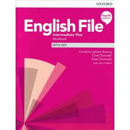 Зошит English File 4th Edition Intermediate Plus Workbook with key