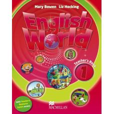 Книга вчителя English World 1 Teacher's Book with Pupil's eBook