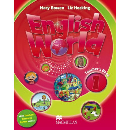 Книга вчителя English World 1 Teacher's Book with Pupil's eBook