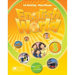 Книга вчителя English World 3 Teacher's Book with Pupil's eBook