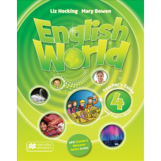 Книга вчителя English World 4 Teacher's Book with Pupil's eBook