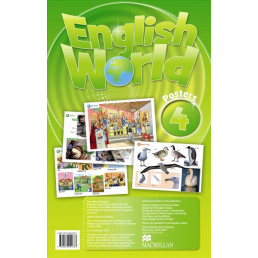Плакати English World 4 Posters