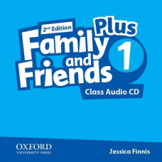 Аудіо диск Family and Friends 2nd Edition 1 Plus Class Audio CDs