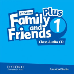 Аудіо диск Family and Friends 2nd Edition 1 Plus Class Audio CD