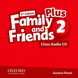Аудіо диск Family and Friends 2nd Edition 2 Plus Class Audio CD