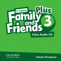 Аудіо диск Family and Friends 2nd Edition 3 Plus Class Audio CDs