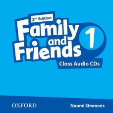 Аудіо диск Family and Friends 2nd Edition 1 Class Audio CDs