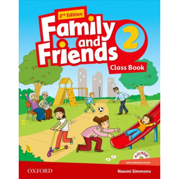Підручник Family and Friends 2nd Edition 2 Class Book