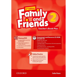 Книга вчителя Family and Friends 2nd Edition 2 Teacher's Book Plus